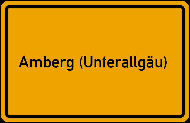 onlinestreet Branchenbuch für Amberg (Unterallgäu)