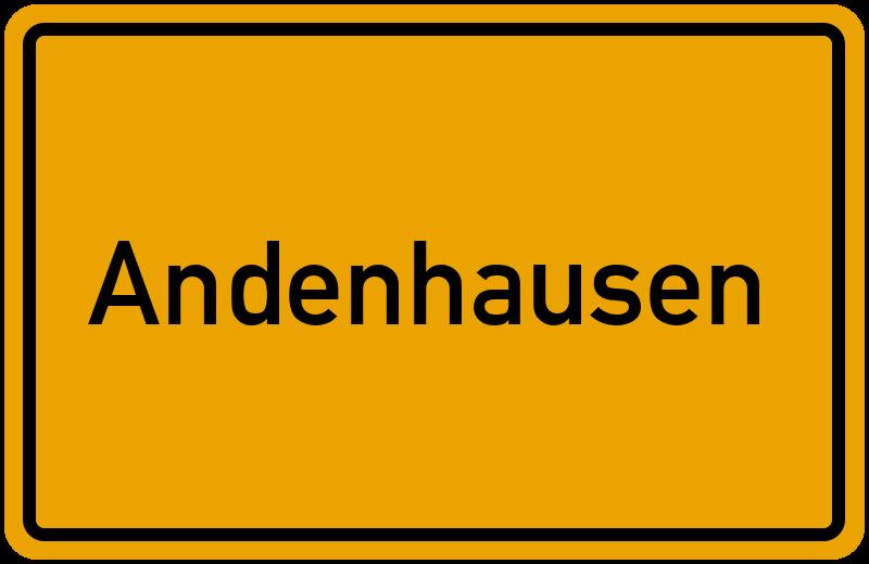onlinestreet Branchenbuch für Andenhausen