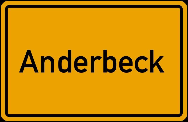 onlinestreet Branchenbuch für Anderbeck