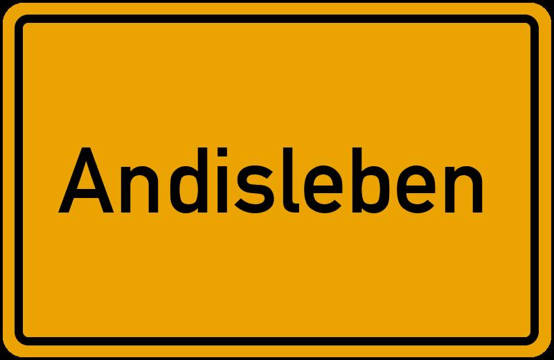 onlinestreet Branchenbuch für Andisleben