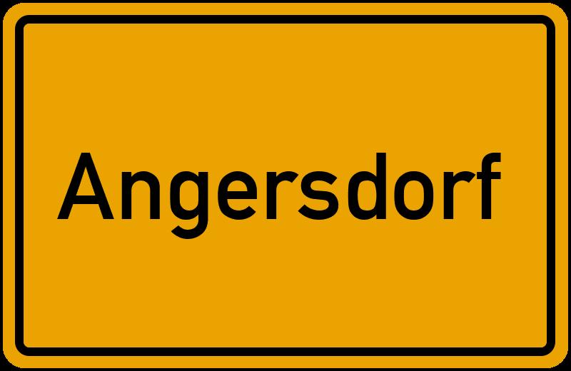 onlinestreet Branchenbuch für Angersdorf