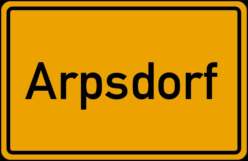 onlinestreet Branchenbuch für Arpsdorf