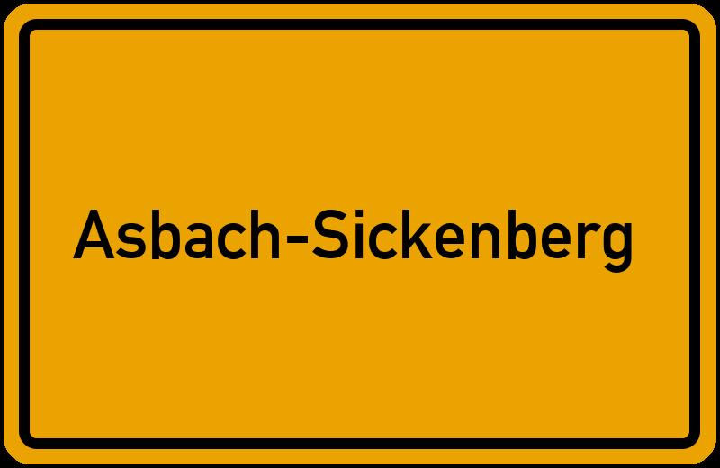 onlinestreet Branchenbuch für Asbach-Sickenberg