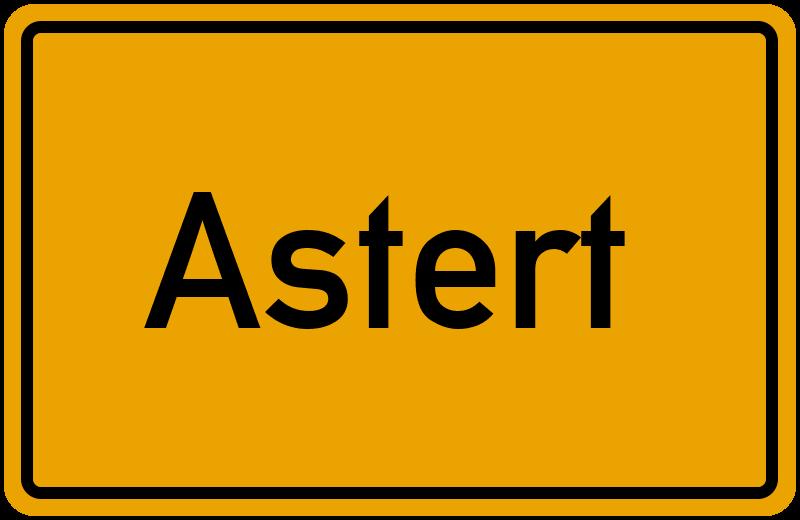 onlinestreet Branchenbuch für Astert