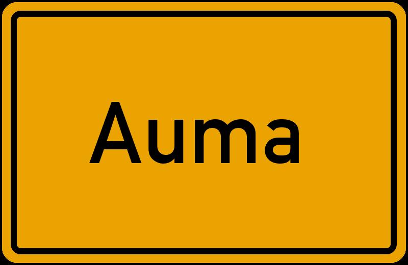onlinestreet Branchenbuch für Auma