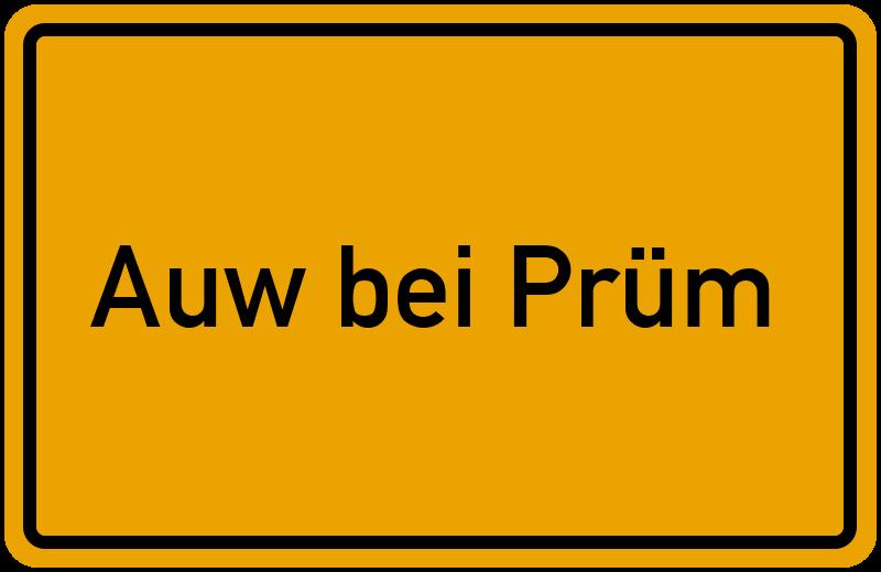 onlinestreet Branchenbuch für Auw bei Prüm