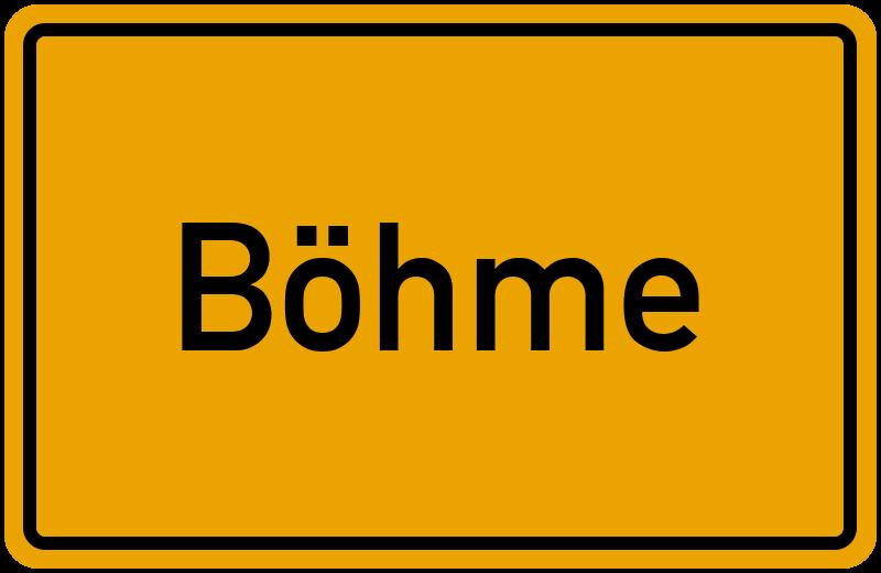 onlinestreet Branchenbuch für Böhme