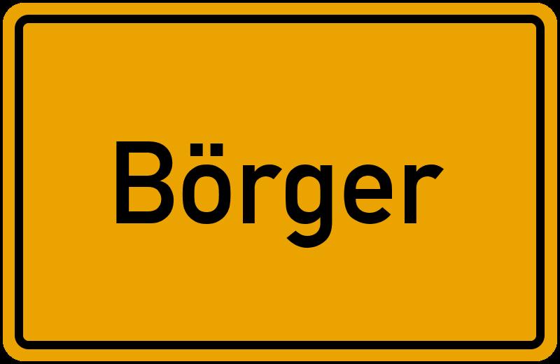 onlinestreet Branchenbuch für Börger