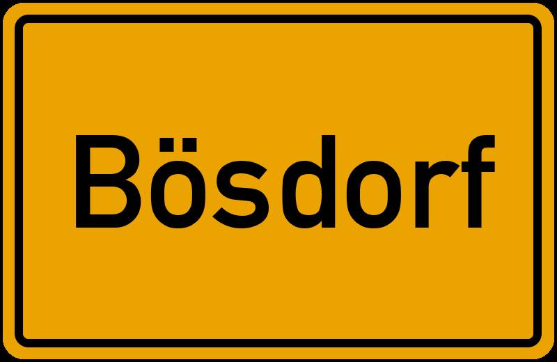 onlinestreet Branchenbuch für Bösdorf