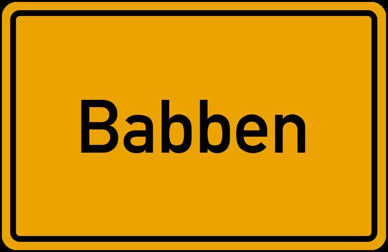 onlinestreet Branchenbuch für Babben
