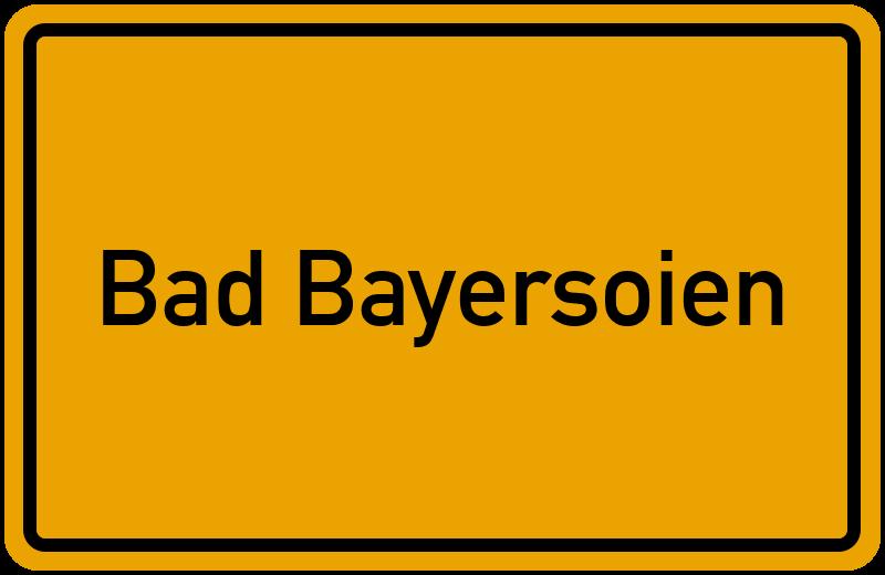 onlinestreet Branchenbuch für Bad Bayersoien