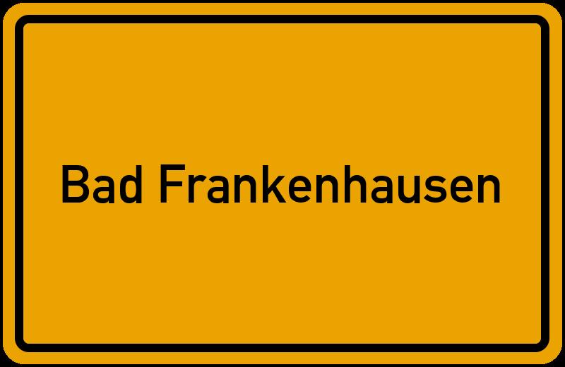 onlinestreet Branchenbuch für Bad Frankenhausen