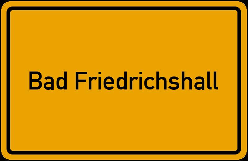 onlinestreet Branchenbuch für Bad Friedrichshall