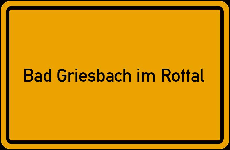 onlinestreet Branchenbuch für Bad Griesbach im Rottal