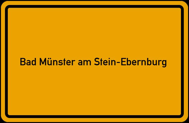 onlinestreet Branchenbuch für Bad Münster am Stein-Ebernburg