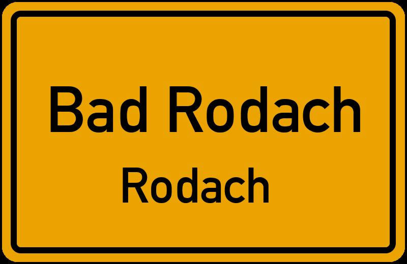 Meininger Strasse In 96476 Bad Rodach Rodach Bayern