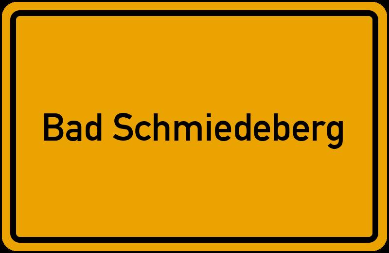 onlinestreet Branchenbuch für Bad Schmiedeberg