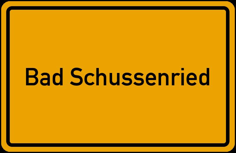 onlinestreet Branchenbuch für Bad Schussenried