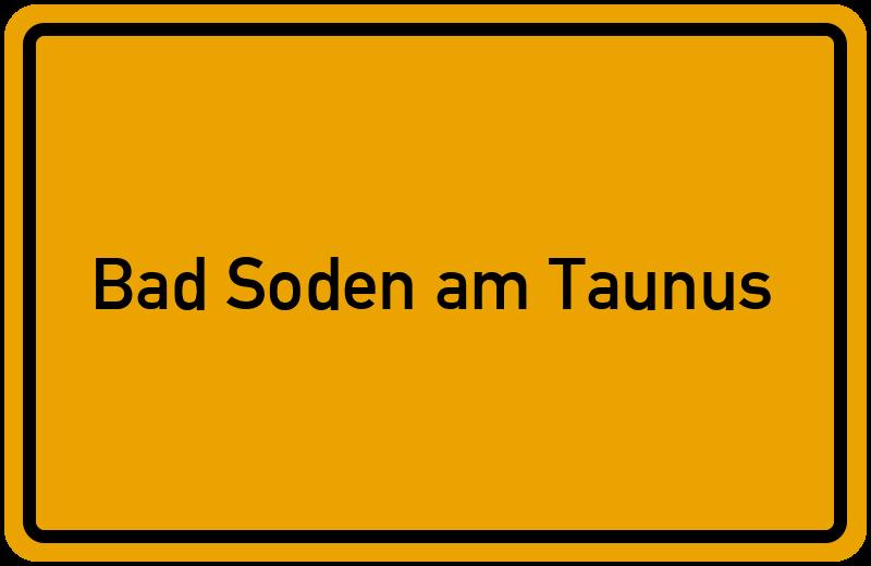 onlinestreet Branchenbuch für Bad Soden am Taunus