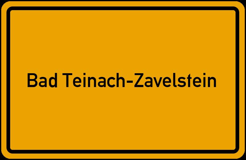 onlinestreet Branchenbuch für Bad Teinach-Zavelstein