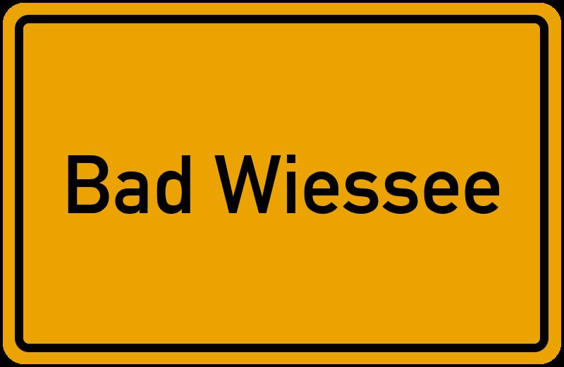 Wo Liegt Bad Wiessee Lageplan Bad Wiessee Bayern Deutschland