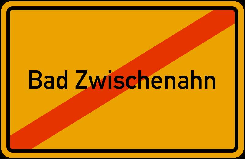 Ortsschild Bad Zwischenahn