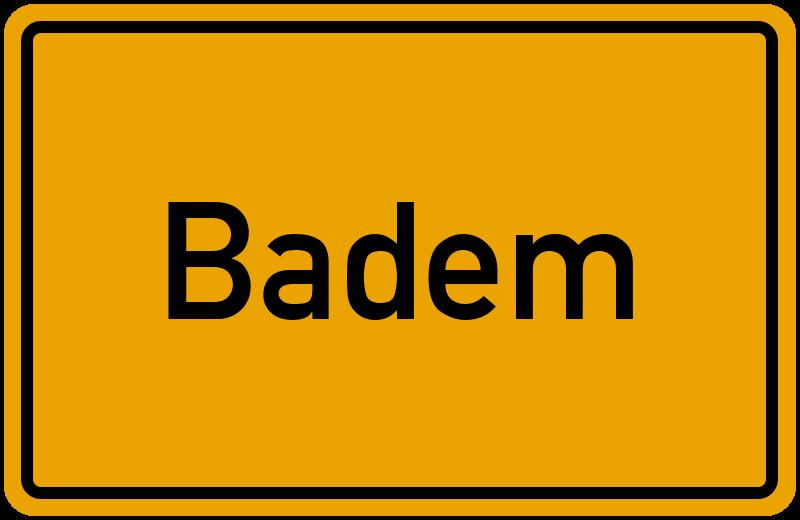 onlinestreet Branchenbuch für Badem