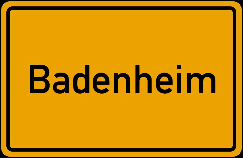 onlinestreet Branchenbuch für Badenheim