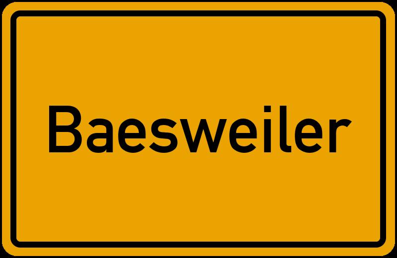 onlinestreet Branchenbuch für Baesweiler