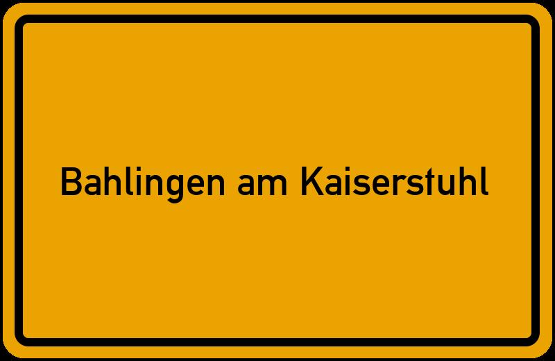 onlinestreet Branchenbuch für Bahlingen am Kaiserstuhl
