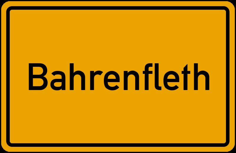 onlinestreet Branchenbuch für Bahrenfleth