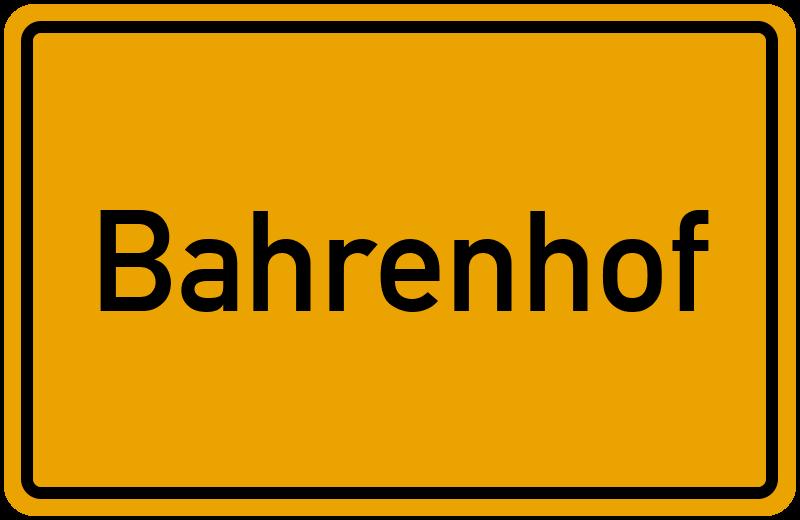 onlinestreet Branchenbuch für Bahrenhof