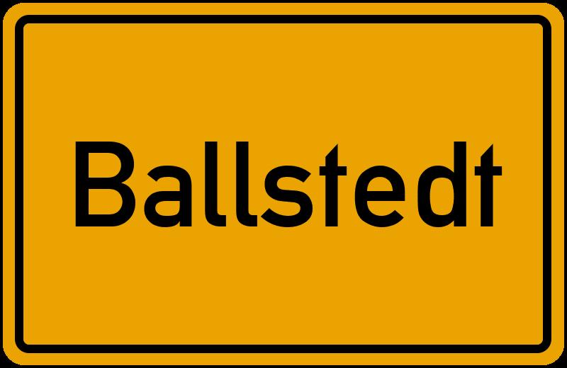 onlinestreet Branchenbuch für Ballstedt