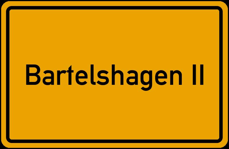 onlinestreet Branchenbuch für Bartelshagen II