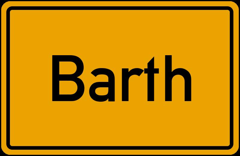 onlinestreet Branchenbuch für Barth