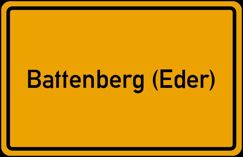 onlinestreet Branchenbuch für Battenberg (Eder)