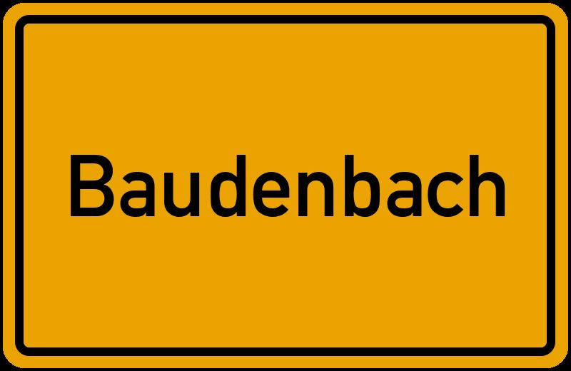 onlinestreet Branchenbuch für Baudenbach