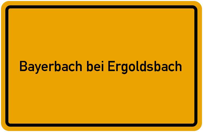 onlinestreet Branchenbuch für Bayerbach bei Ergoldsbach