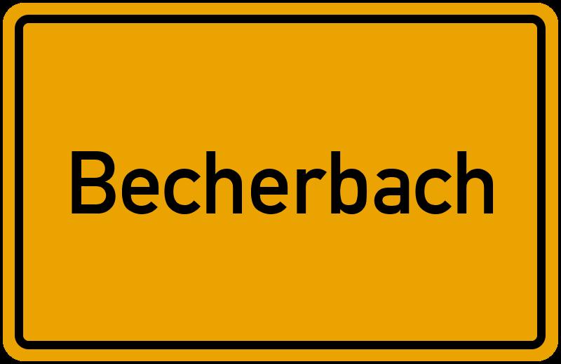 onlinestreet Branchenbuch für Becherbach