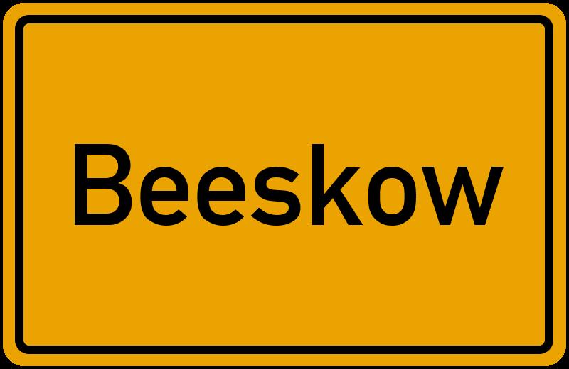onlinestreet Branchenbuch für Beeskow