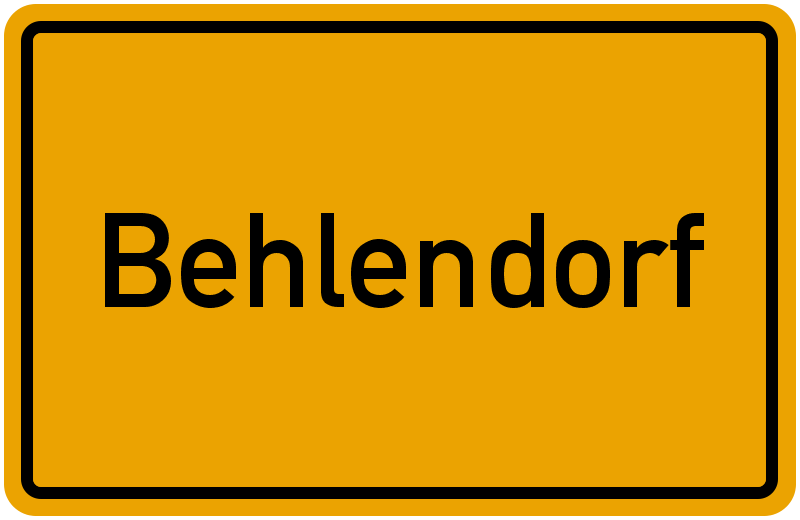 onlinestreet Branchenbuch für Behlendorf