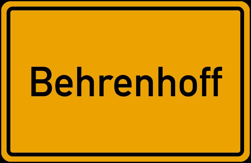 onlinestreet Branchenbuch für Behrenhoff
