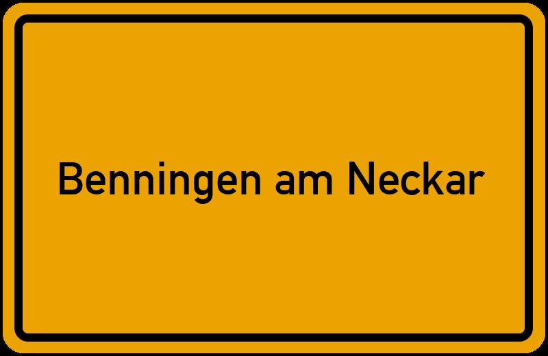 onlinestreet Branchenbuch für Benningen am Neckar