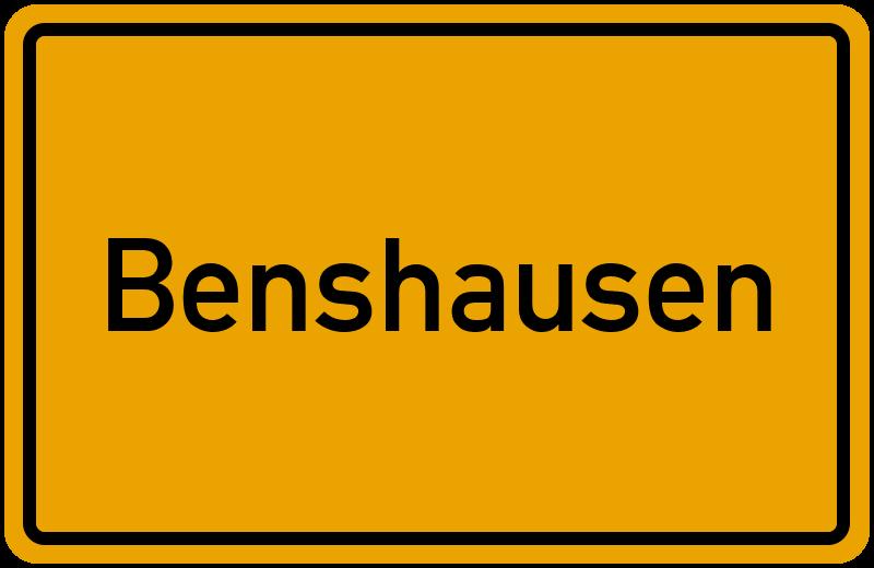 onlinestreet Branchenbuch für Benshausen