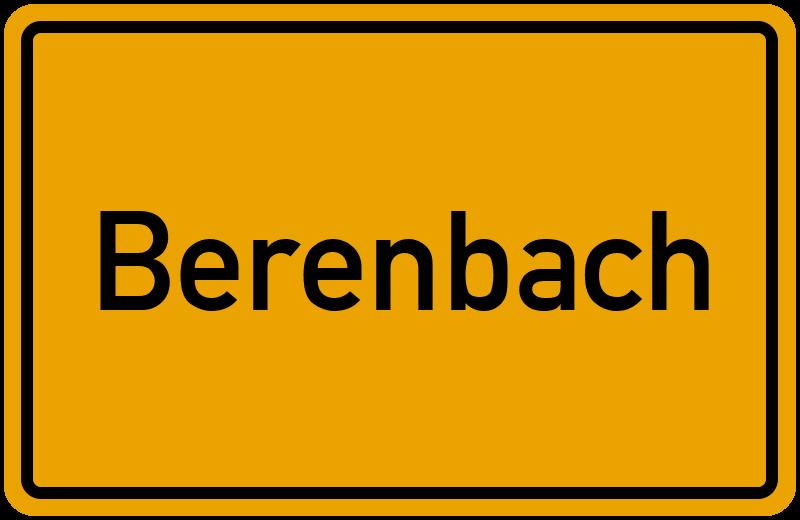onlinestreet Branchenbuch für Berenbach
