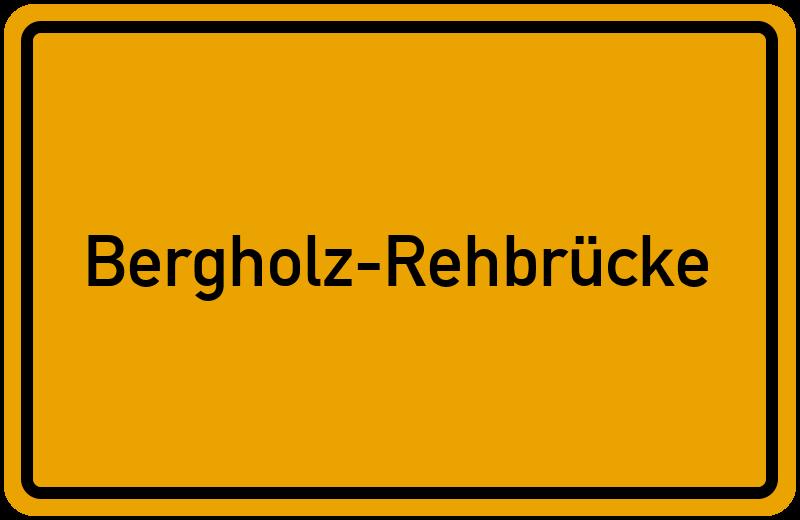onlinestreet Branchenbuch für Bergholz-Rehbrücke