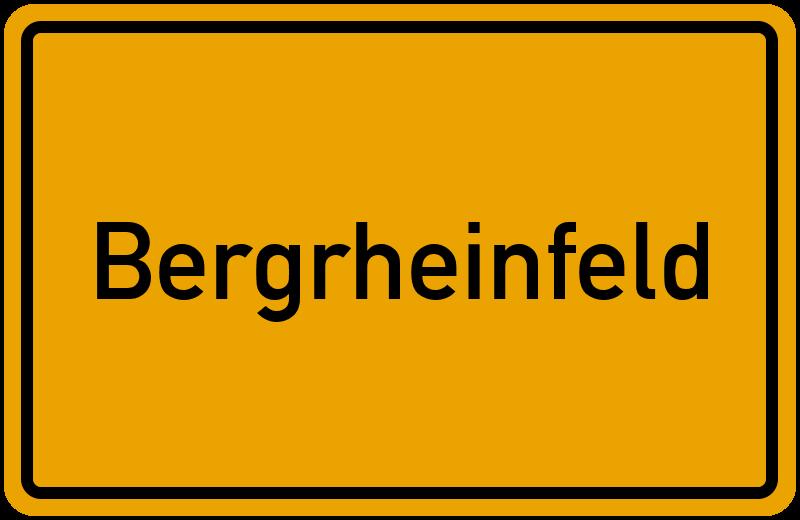 onlinestreet Branchenbuch für Bergrheinfeld