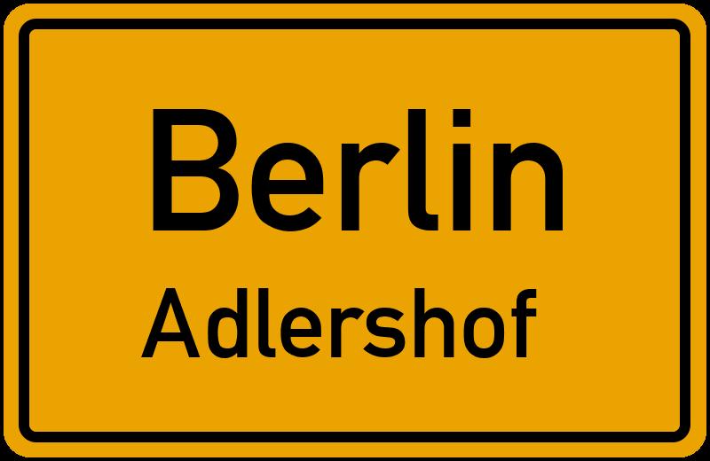Adlershof Postleitzahl
