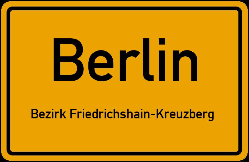 Weichselstrasse In 10247 Berlin Bezirk Friedrichshain Kreuzberg