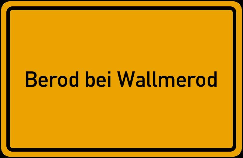 onlinestreet Branchenbuch für Berod bei Wallmerod